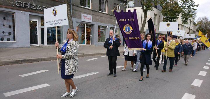 LIONS tarptautinės organizacijos Kauno M. K. Čiurlionio klubo
