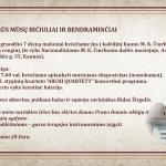 Kauno M.K. Čiurlionio LIONS klubo kvietimas į Kalėdinį labdaros renginį