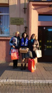 LIONS tarptautinės organizacijos Kauno M. K. Čiurlionio klubo akimirkos iš P. Daunio ugdymo centro, Baltosios lazdelės diena