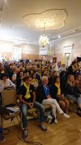Akimirkos iš LIONS tarptautinės organizacijos Kauno M. K. Čiurlionio klubo dalyvavimo forume Palangoje 2018 metų rugsėjo 15, 16 dienomis.
